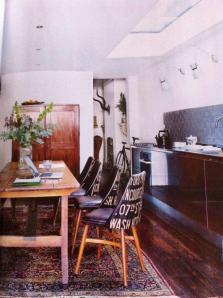Benchairs in Livingetc Magazine