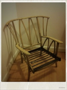 Wooden Armchair Project