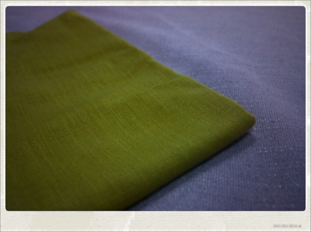 Grey and Mustard Yellow Fabric