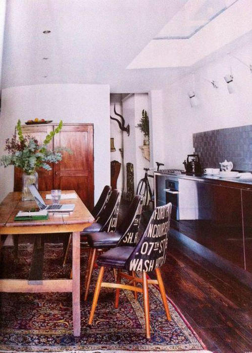 Florrie+Bill Benchairs in Living Etc