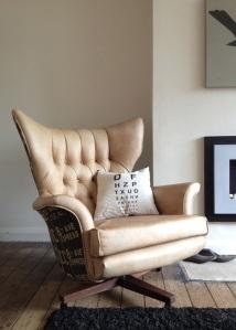 G Plan Swivel Wing Chair Model 6250
