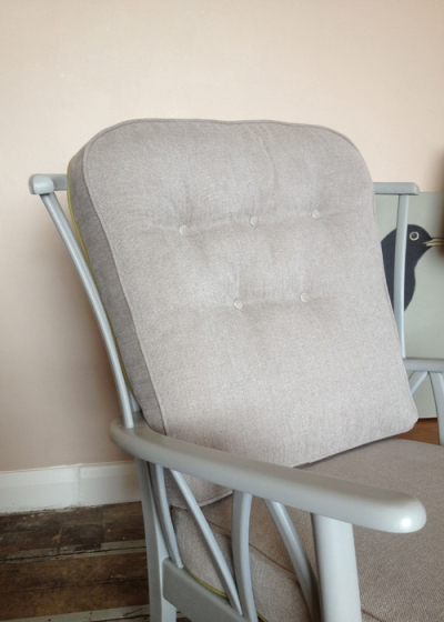 Mr & Mrs Smithers Chair Grey