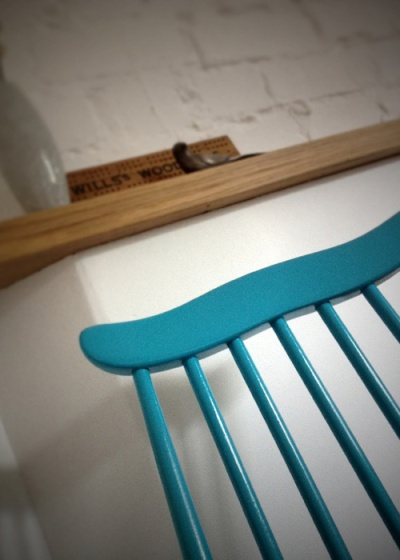 Blue Ercol Goldsmith Chair