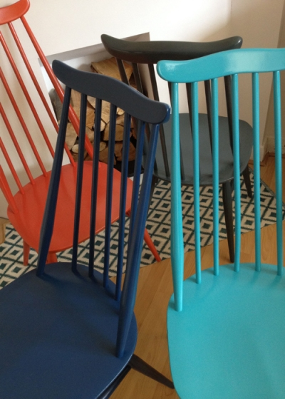 Ercol Goldsmith Chairs Close Up