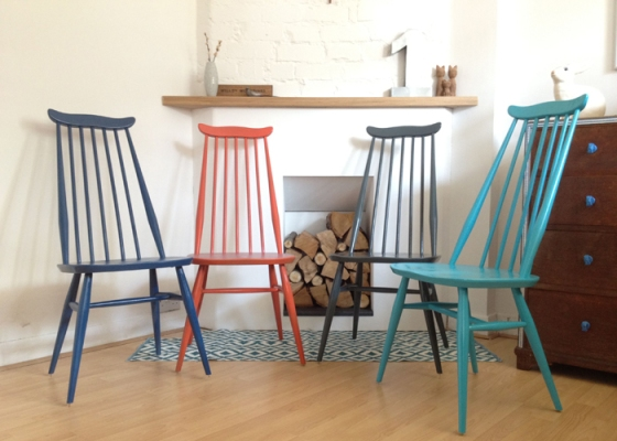 Ercol Goldsmith Coloured Chairs