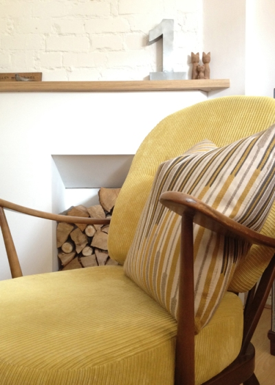 Ercol Windsor Armchair Detail