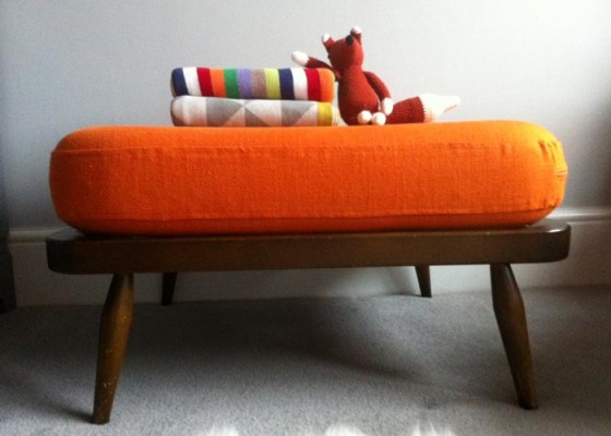 Ercol Windsor Footstool for Nursery