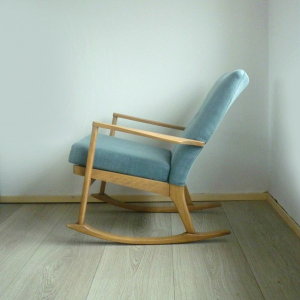 Parker knoll rocking chair pk 973 4 restoration florrie bill - Knoll rocking chair ...