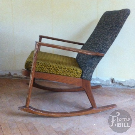 ... Vintage Parker Knoll Rocking Chair