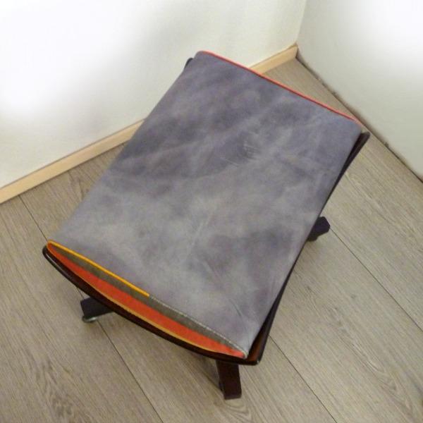 G Plan 6251 6250 Footstool Tamasyn Gambell Linen Top