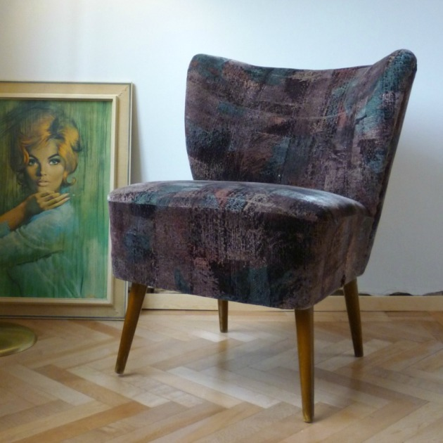 Danish Cocktail Chair for Bespoke Recover