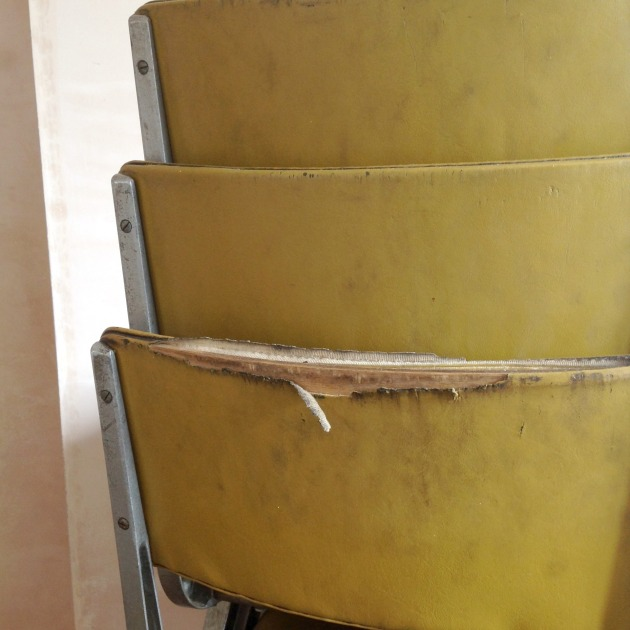 Vintage Esavian Chair backs before restoration