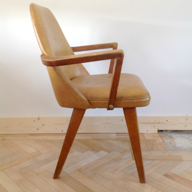 Retro Benchair Carver Dining Chair