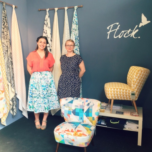 Flock Stand Jenny and Joanna 2014