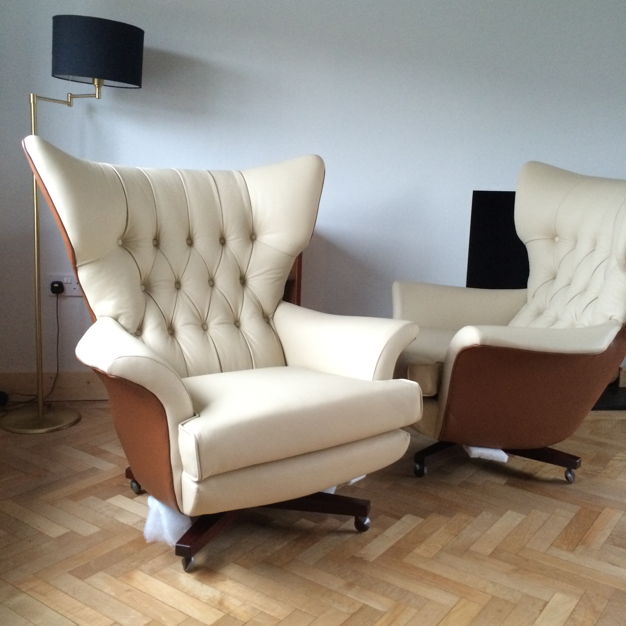 Our Latest Vintage G Plan 6250 Chair Reupholstery Projects