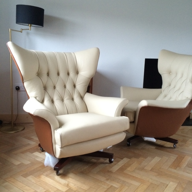 Vintage G Plan 6250 Swivel Chair
