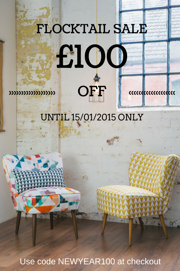 Florrie and Bill Cocktail Chair Sale