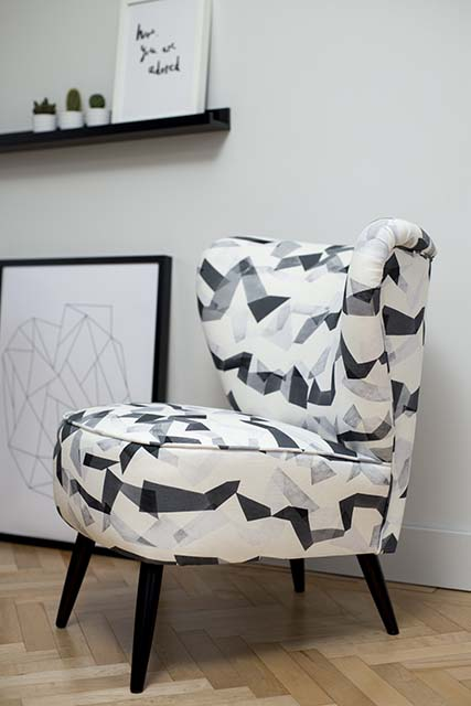 Cocktail Chair Monochrome Flint Florrie and Bill SS15