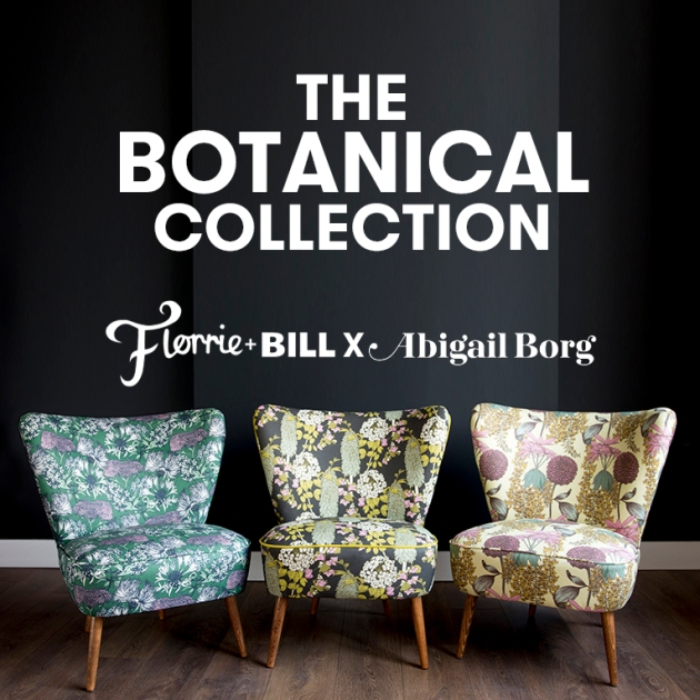 The Botanical Collection from Florrie+Bill
